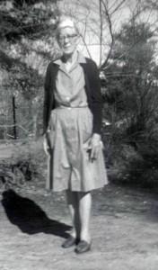 Belle Moss Cloer, March 1971