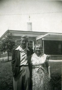 Jack Chaney and Patti