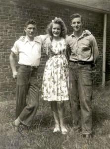 Johnny Chaney, Martha Sue Chaney, Wesley Falls