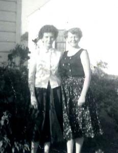 Peggy & Martha Sue Chaney